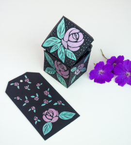 design cards, boxes and tags with Signo gel pens