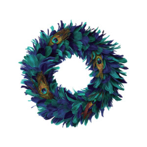 Peacock wreath Homesense
