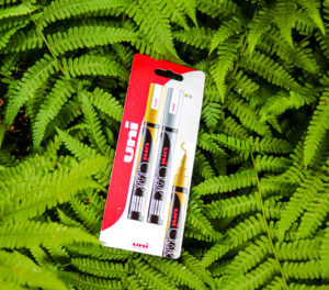 uni-ball pens introduce plastic-free packaging