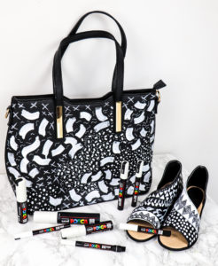 Create coordinated customised fashion with POSCA