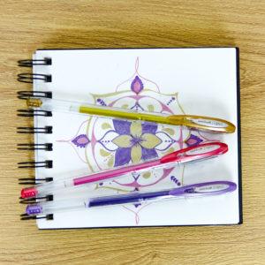 Mandalas with SIGNO metallic pens