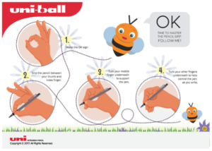 Free Handwriting Worksheets - pencil grip