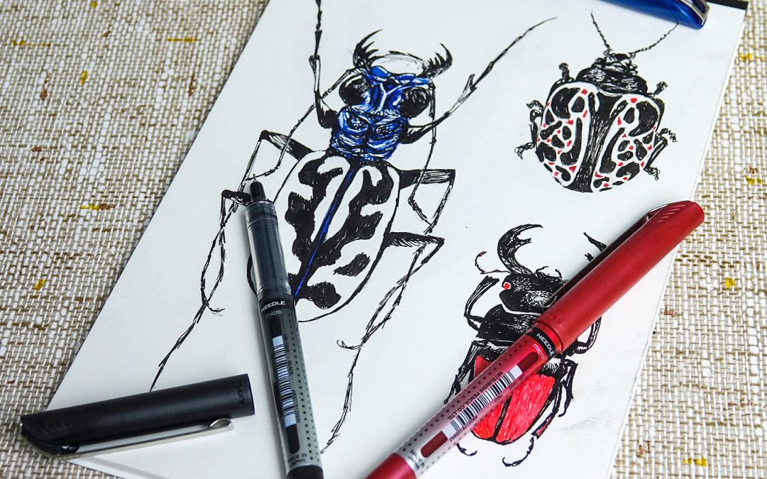 5 ways with your uni-ball Eye pens