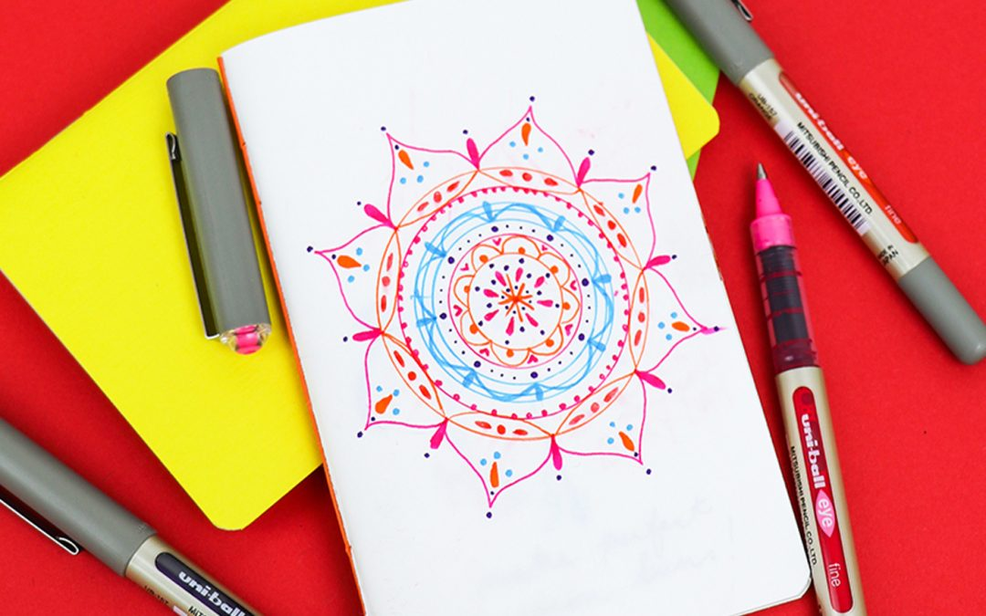 How to make mindful mandalas