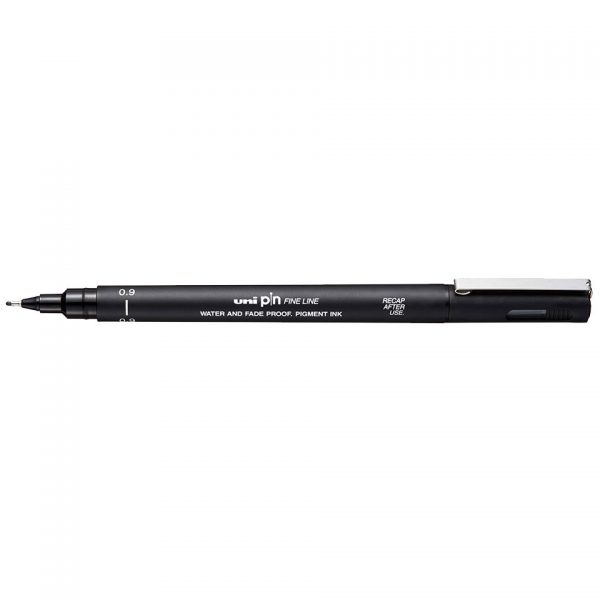 uni PIN 09 Line Drawing Pen
