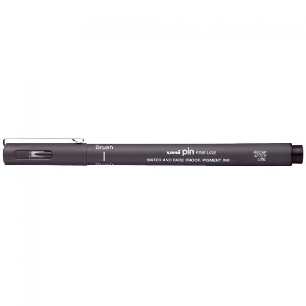 uni PIN Brush Dark Grey
