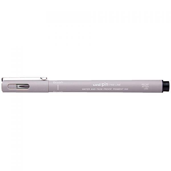 uni PIN Brush Light Grey