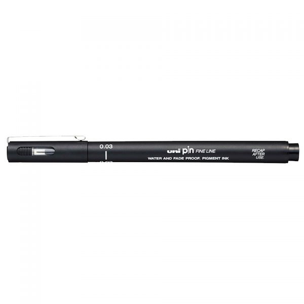 uni PIN 003 Line Drawing Pen