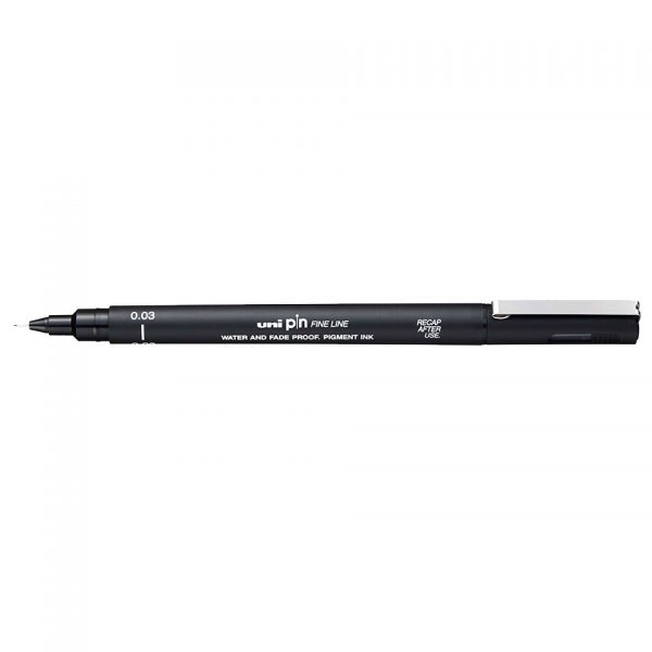 uni PIN 003 Line Drawing Pen