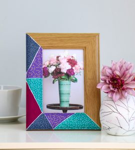 Update a picture frame with POSCA