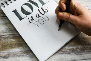 Hand-lettering guide: sketch your serif textr