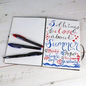 Lists journal uni-Air pen