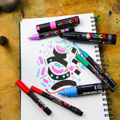 Have fun with POSCA pens