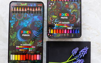 POSCA GIVES ARTISTS MORE CHOICE WITH NEW POSCA PENCILS AND POSCA PASTELS