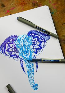 uni eye illustration