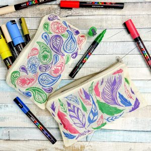 POSCA pencil case
