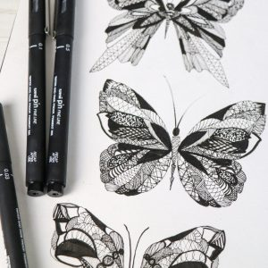 Intricate designs with PIN pens