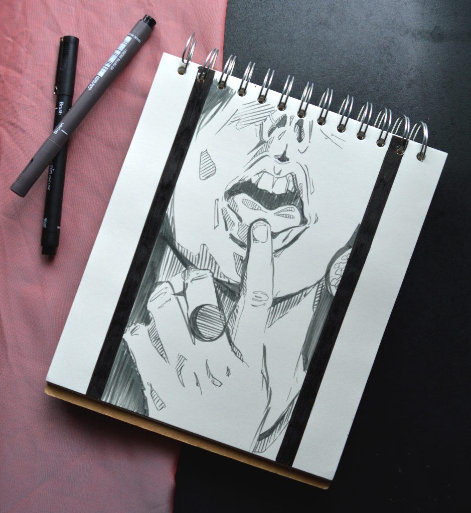 Heidi Sharp PIN drawing