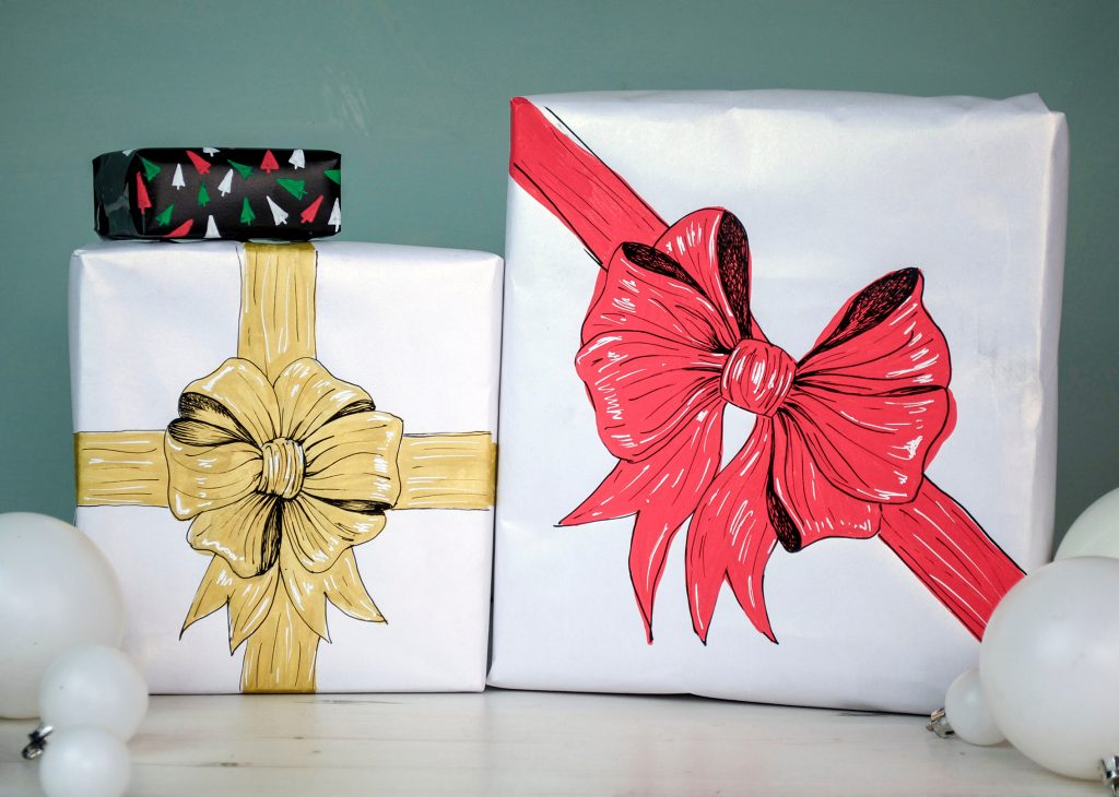 Gift decorations ideas