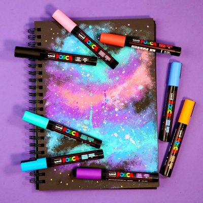 Christmas gift ideas 5: Celestial POSCA and sketchbook set