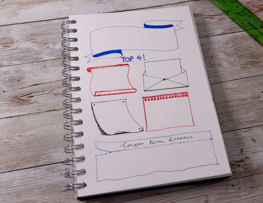 Easy Journal how to with uni-Eye pens