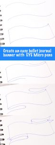Easy journal banner header