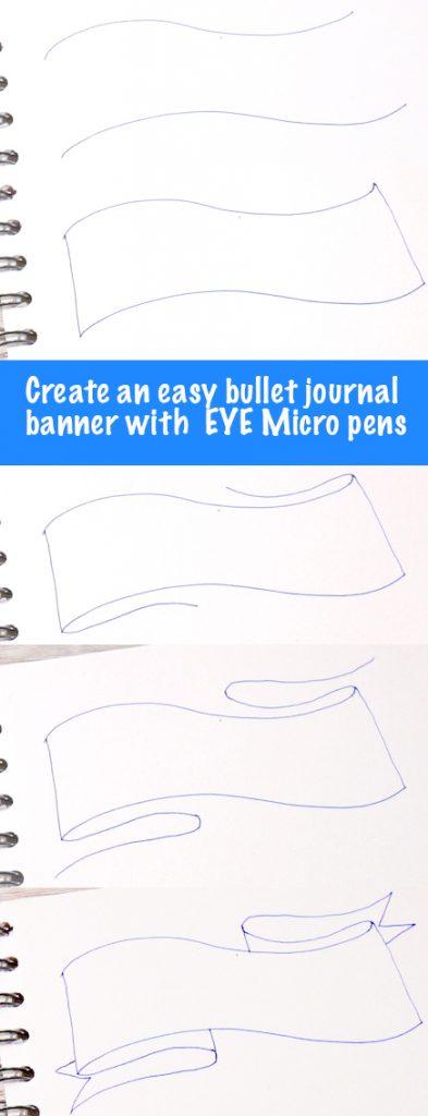 Easy journal banner header