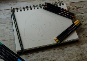 Create a tonal drawing with POSCA Pastel