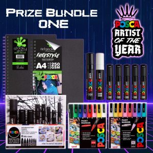 POSCA Artist of the Year monthly prize