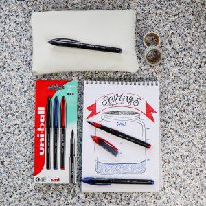Financial bullet journaling