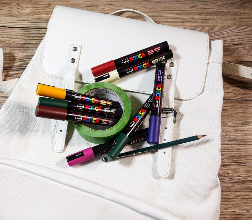 Customise with POSCA Deep colours