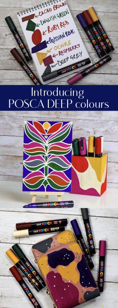 New Posca deep colours