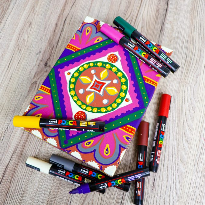 Introducing New Posca Markers Deep Colours