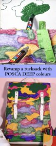 Customise with POSCA Deep colours