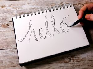 Easy hand-lettering with uni-Air