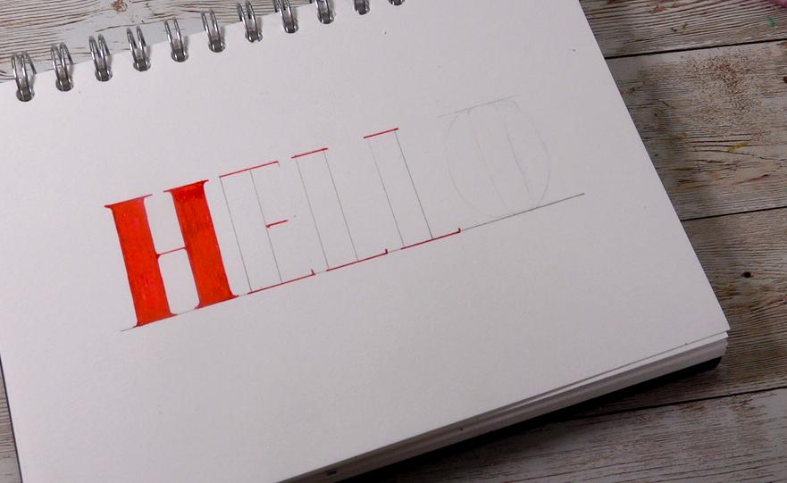 Easy hand-lettering