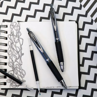 uni-ball refillable pens now available on easichalk