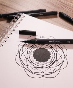 Design mandalas with PIN pen