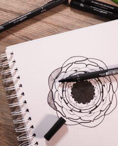 Design mandalas with PIN pen