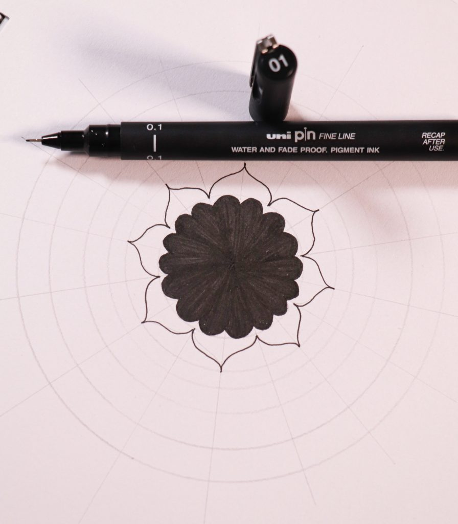 draw a simple mandala