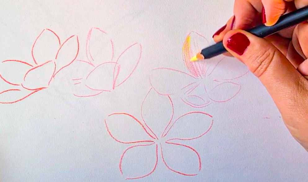 Make drawings with POSCA PENCIL