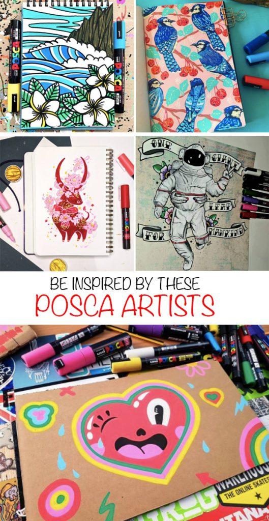 POSCA artists