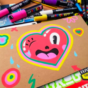 Be inspired by POSCA artists