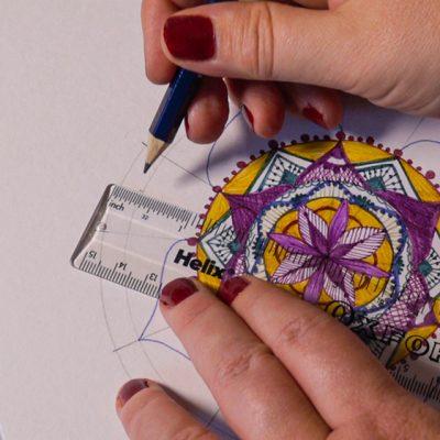 Design a vibrant mandala with EMOTT fineliners