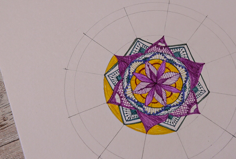 coloured pens project