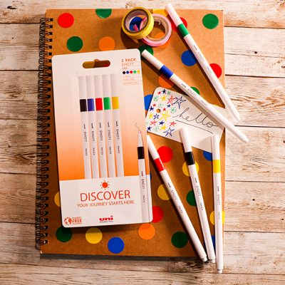 Take a look at our On Point plastic free pen packs