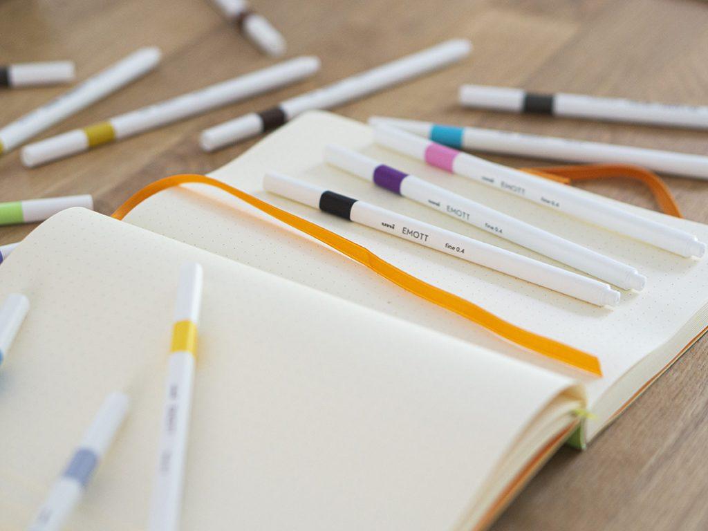 EMOTT felt tip pens