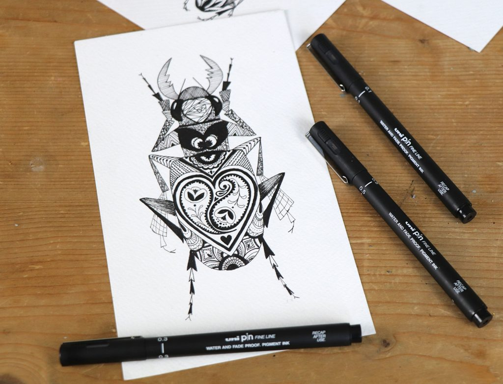 Get your PINs at the ready for #Inktober.